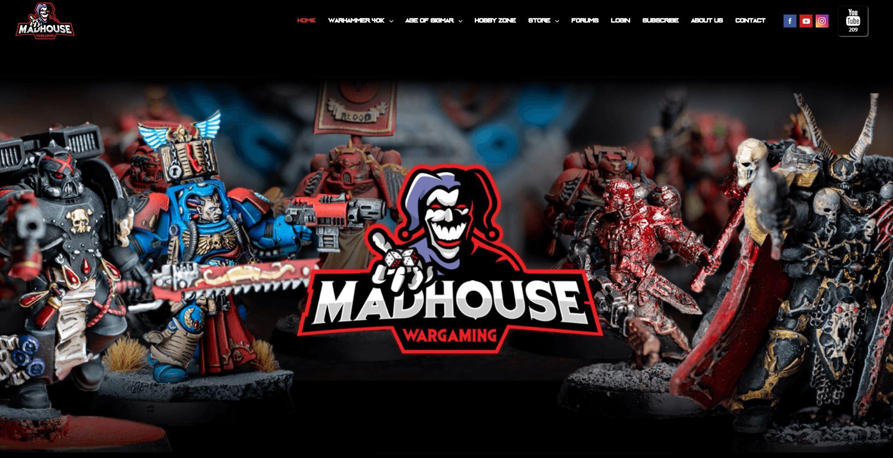Madhouse Wargaming